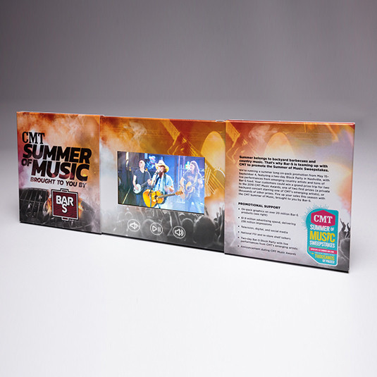 """The Sterling-Rice Group uses 4.3"""" Video Screen-Center Reveal to Promote Summer Sweepstakes"""