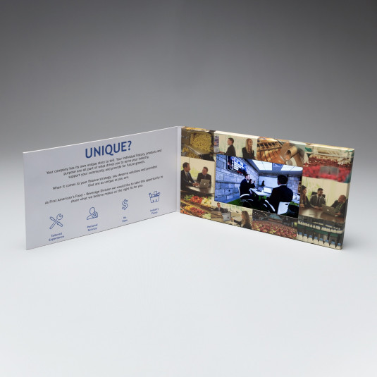 Landscape Oriented Video Brochure