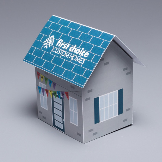 Make Your Prospects Feel Right At Home The Pop Up House With Lift Up Roof