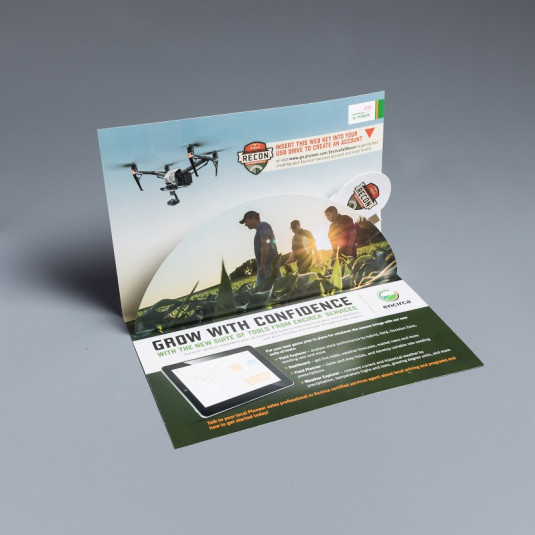 AKC Marketing for Encirca uses Pop Up Web Key Brochure to Introduce New Tools and Services