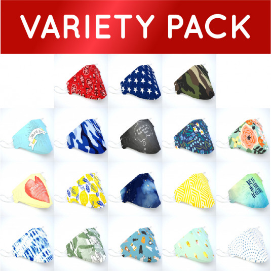 Variety Pack - RPP Custom Face Covers™