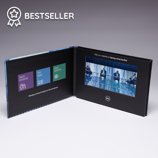 "7"" HD Hardcover Video Brochure"