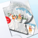"""Winter Forest 3"""" Globe Greeting Card"""