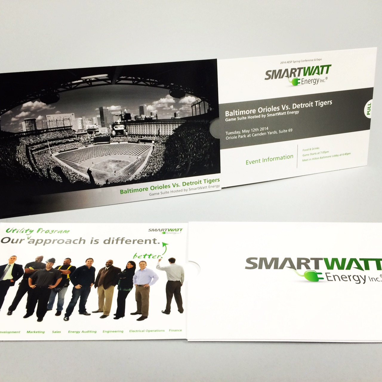 "SmartWatt Energy Uses ""Cool"" Telescoping Event Invitations"