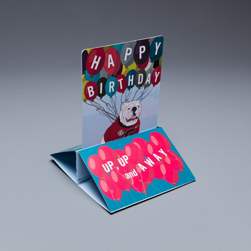 University of Georgia's Pop Up Birthday Card is At the Center of Alumni's Attention