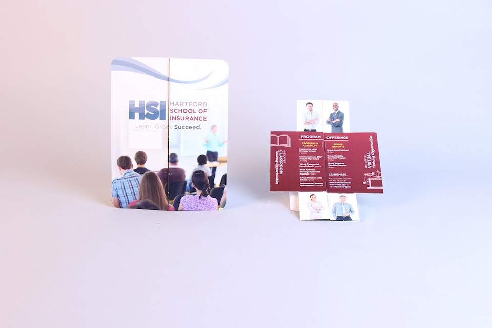 Hartford School of Insurance Creative Mailer