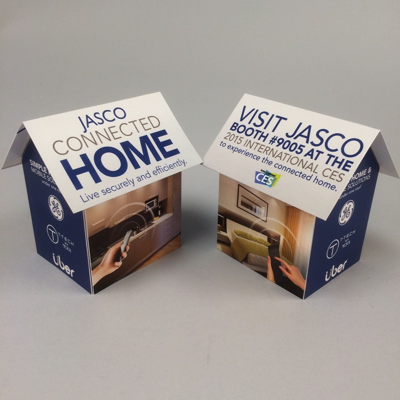 Jasco Uses Pop-Up House to Connect with Attendees
