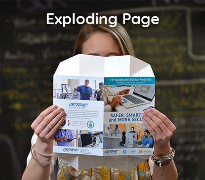Exploding Page